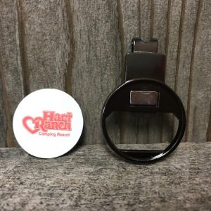 Golf Hat Clip w/ Ball Marker and Bottle Opener