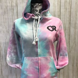 Tie Dye Zippered Sweatshirt