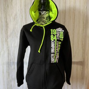 Hart Ranch Adult Zippered Hoodie - Green