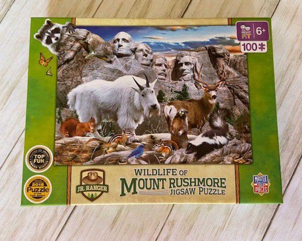 Wildlifepuzzle Wildlife Of Mount Rushmore Puzzle