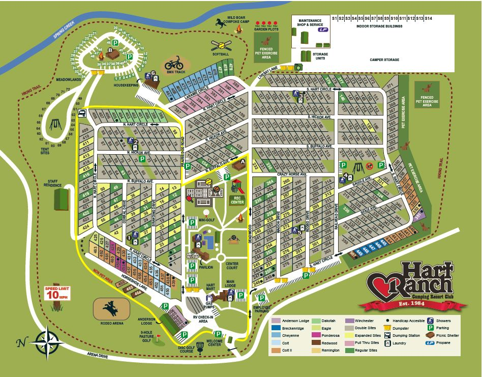 Map Campground Map