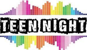 Teen Night Activities Calendar