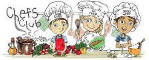Kids Cooking Activities Calendar