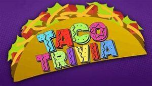 Tacos And Trivia Activities Calendar