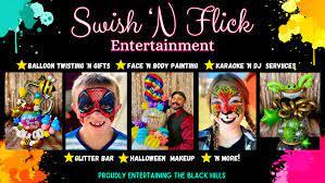 Swish And Flick Activities Calendar