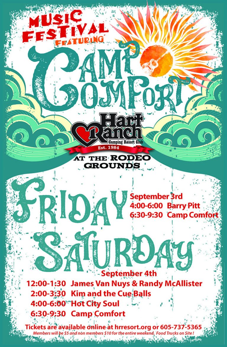 Hart Ranch - Music Festival With Camp Comfort