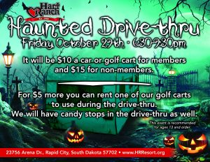 2021 Halloween Event Flyer Activities Calendar