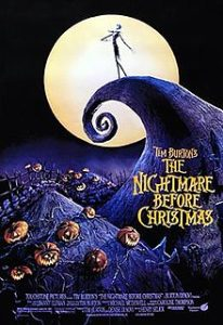 The Nightmare Before Christmas Poster Activities Calendar