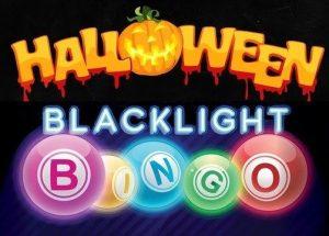 Halloween Blacklight Bingo Activities Calendar
